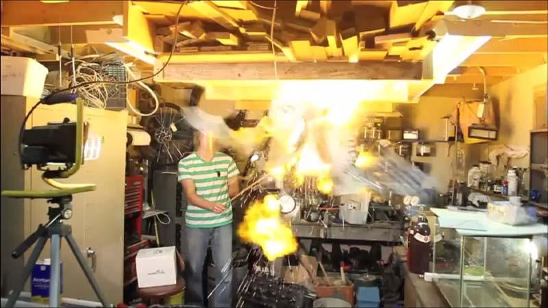انفجار گاز هیدروژن چه خطراتی دارد؟